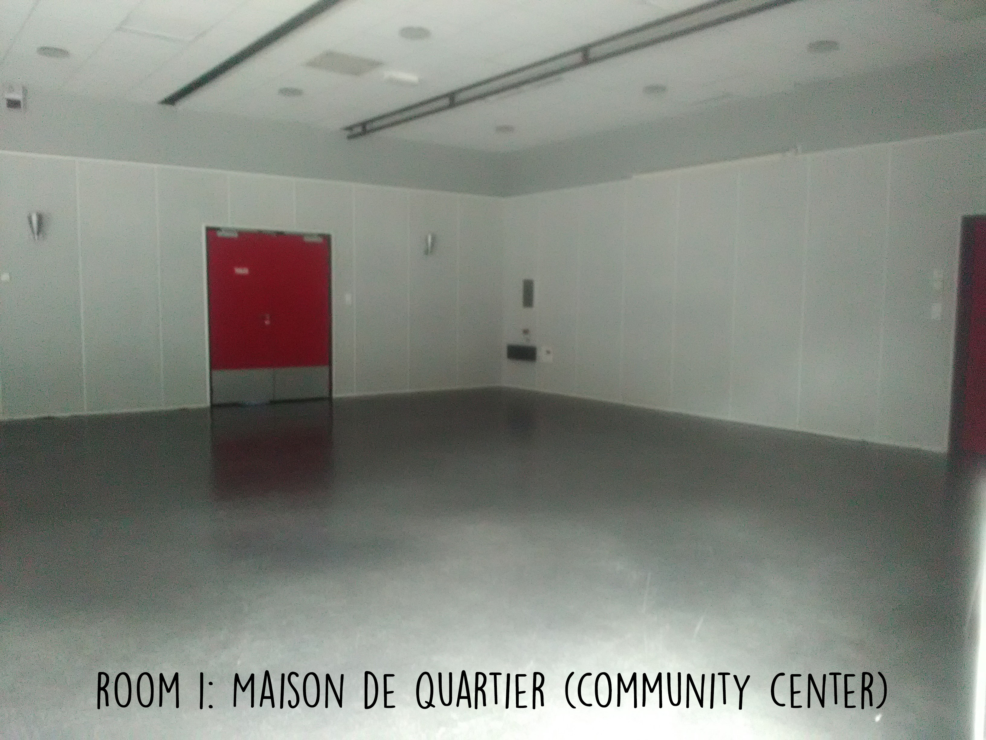 Room 1 - Community Center